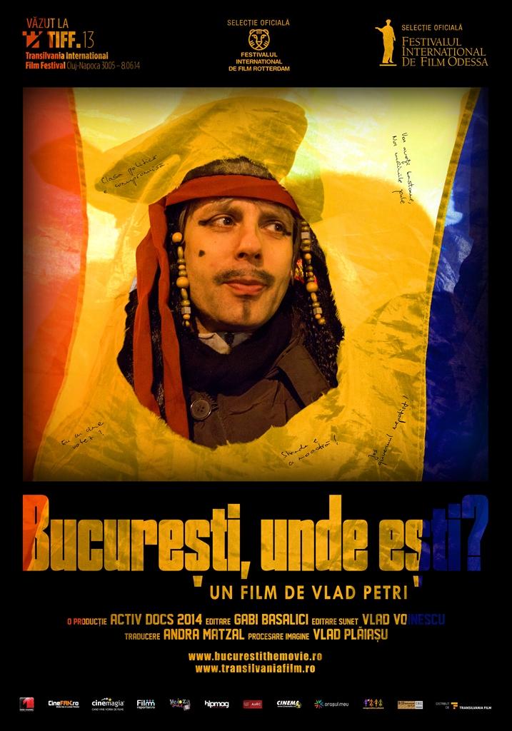 Bucuresti, unde esti - Afis - Mail