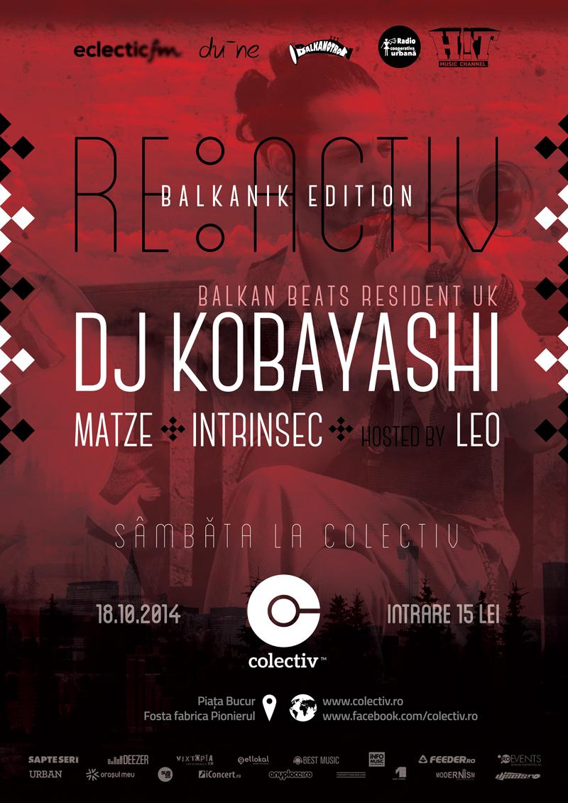 afis Kobayashi- resident DJ BalkanBeats London- Colectiv