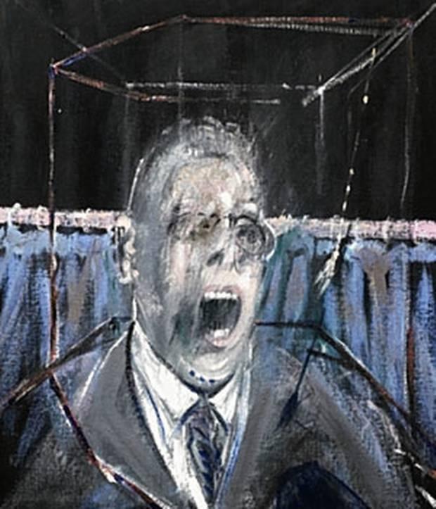 Francis Bacon, Study for a Portrait / 1952