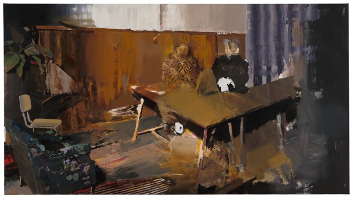 Adrian Ghenie, The Trial / 2010