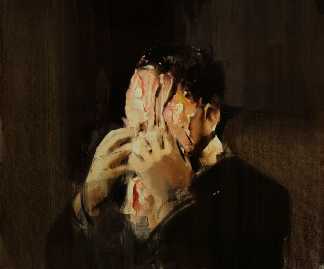 Adrian Ghenie, Pie fight / 2009