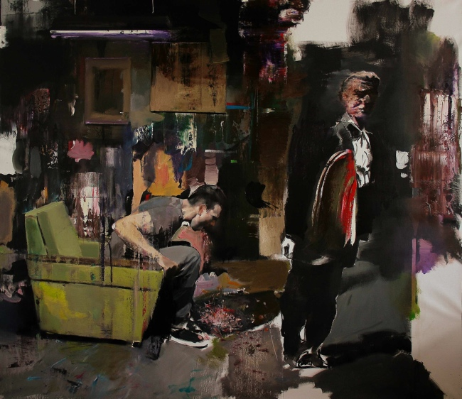Adrian Ghenie, The Devil / 2010