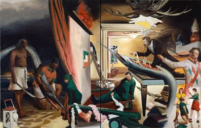 Neo Rauch, the Curtain / 2006