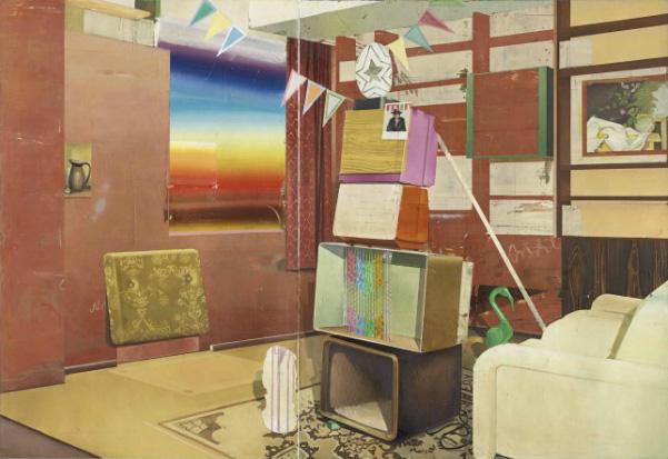 Matthias Weischer, Tv Tower / 2004