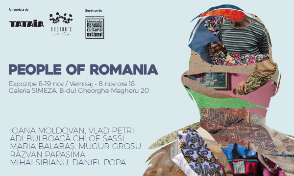 PEOPLE OF ROMANIA se lansează la galeria Simeza